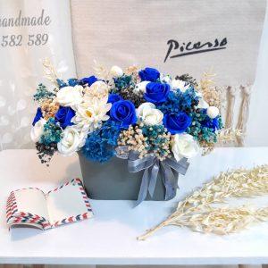 Giỏ hoa, lẵng hoa để bàn